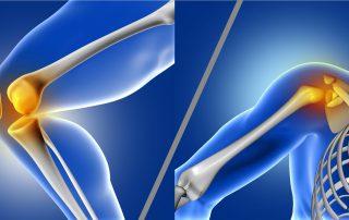 Παθήσει γόνατος και ώμου